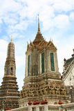 Stupa bei Wat Arun in Bangkok Thailand Lizenzfreie Stockbilder