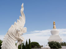 Stupa of Benalmadena Stock Photography