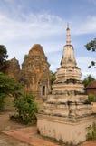 Stupa bij Tempel Lolei Stock Foto's