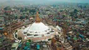 Stupa Bodhnath Κατμαντού, Νεπάλ - 12 Οκτωβρίου 2018 φιλμ μικρού μήκους