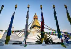 Stupa Bodnath в Катманду Стоковые Изображения