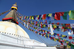 Stupa Bodnath Royalty Free Stock Photos