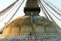 Stupa Bodnath Royalty Free Stock Photography
