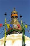 Stupa, Bodnath, Nepal Stock Image