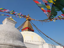 The Stupa of Bodnath, Nepal Stock Image