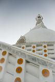 Stupa boeddhistische godsdienstige structuur Stock Foto