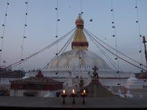 Stupa boudhanat. Budhis stupa in Nepal Royalty Free Stock Image