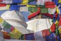 Stupa Boudhanath в Катманду, Непале Стоковые Изображения RF