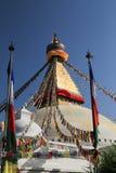 Stupa Boudhanath от Непала Стоковое Фото