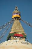 stupa boudhanath Стоковое Изображение