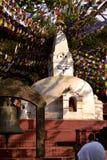 Stupa Boudhanath Στοκ φωτογραφία με δικαίωμα ελεύθερης χρήσης