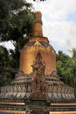 Stupa in Brahmavihara Arama monastery, Bali Island (Indonesia) Stock Photography