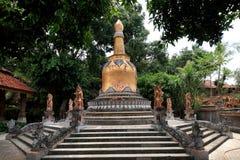 Stupa in Brahmavihara Arama monastery, Bali Island (Indonesia) Royalty Free Stock Photography