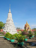Stupa in a Buddhist Temple in Cambodia Stock Photos