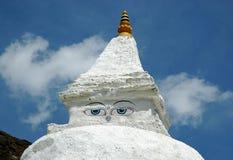 Stupa buddista Immagine Stock