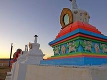 Stupa buddista immagini stock