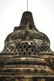 Stupa central de la isla de Borobudur Java, Indonesia Fotos de archivo