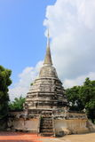 Stupa chez Wat Phra Ngam Photo libre de droits