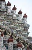 Stupa con il gigante Immagini Stock