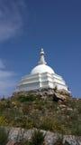 Stupa d'éclaircissement sur l'île Ogoy Image libre de droits