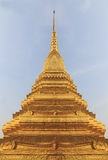 Stupa d'or Photo stock