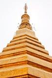 Stupa d'or Images libres de droits