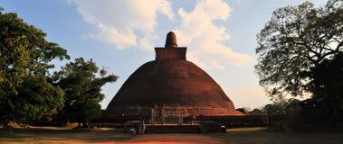 Stupa dagoba Jetavaranama, Anuradhapura, Σρι Λάνκα Στοκ εικόνα με δικαίωμα ελεύθερης χρήσης