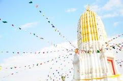 stupa dans le temple Images stock