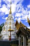 Stupa dans Watklangwiang, Chiang Rai, Thaïlande Image stock