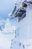 Stupa, das in den Urals weckt Lizenzfreie Stockfotografie