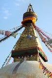 Stupa de Bodnath Photos stock