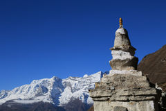 Stupa de Boudhanath du Népal Image stock