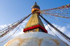 Stupa de Boudhanath en Katmandu, Nepal Foto de archivo libre de regalías