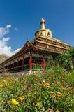 Stupa de Gongtang Fotos de archivo