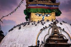 Stupa de Kathesimbhu à Katmandou Image libre de droits