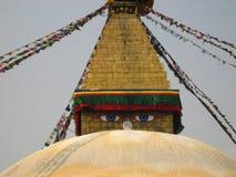 Stupa de Nepal Imagen de archivo libre de regalías
