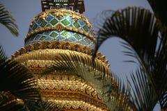 Stupa de oro Imagen de archivo libre de regalías