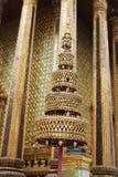 Stupa de oro del palacio magnífico, Bangkok Fotografía de archivo libre de regalías