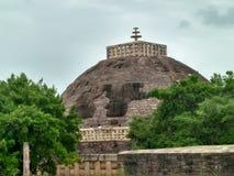 Stupa de Sanchi Imagenes de archivo