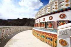 Stupa de Shanti Imagen de archivo libre de regalías