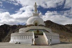 stupa de shanti de leh de ladakh Photographie stock libre de droits
