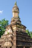 Stupa de style de Sukhothai Photographie stock libre de droits