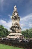 Stupa de Tailandia en la provincia de Yasothon de la señal, templo en archeo imágenes de archivo libres de regalías