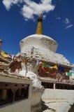 Stupa del monasterio de Lamayuru en Ladakh, la India Fotografía de archivo