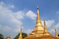 Stupa dell'oro Fotografia Stock