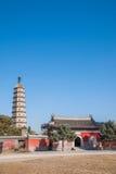 Stupa della località di soggiorno di montagna di Hebei Chengde Fotografia Stock