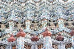 Stupa with Demon Stock Photo