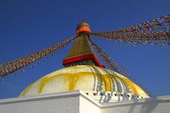 Stupa di Boudnath Fotografie Stock