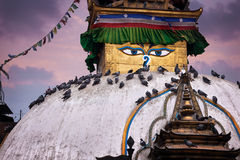 Stupa di Kathesimbhu a Kathmandu Immagine Stock Libera da Diritti
