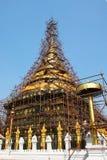 Stupa di Lampang Luang ristabilito Fotografia Stock Libera da Diritti